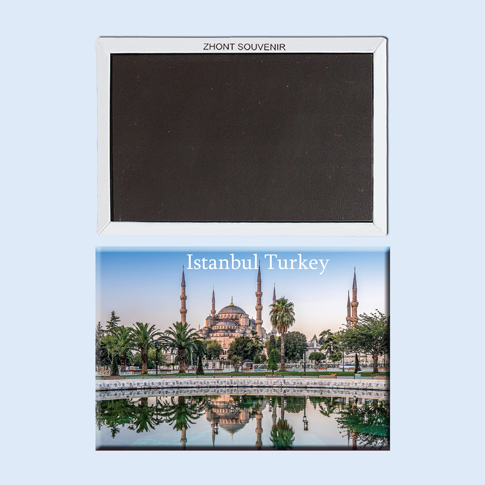 <font><b>Istanbul</b></font> mosque Turkey 22986 Travel souvenirs Magnetic refrigerator gifts for friends image