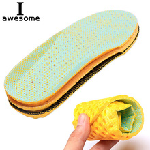 Unisex Sport Shoe Pad EVA Basketball Football Running Insoles Soft Insert Orthotic Arch Support Free Size Cushion for Men Women