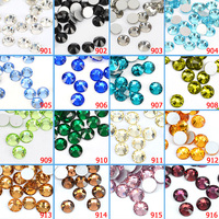 #901 Rhinestones Diamond Decoration CANNI 1440 PCS Crystal White Fatback Rhinestone Glass Bling Diamond Decoration
