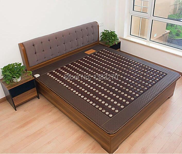 Health care korea tourmaline mattress mixed jade stone massage mattress heated 1.2X1.9M обувь для легкой атлетики health 160