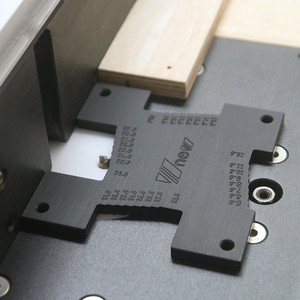 Image 4 - 2 Stuks Hoge Precisie Hoogte Gauge 5 36.5Mm Houtbewerking Router Tafel Elektrische Cirkelzaag Graveermachine Meetinstrument heerser