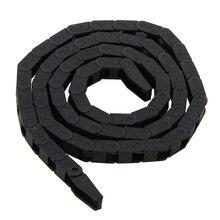 7*7 мм черный нейлон провода перевозчики Тяговая цепь пластик буксирное гнездо Кабельные перевозчики пластиковые буксирное гнездо для станка с ЧПУ