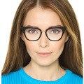 Nuevo Remache Retro de las Gafas de Ojo de Gato de Calidad Marco de las Piernas de Los Hombres Mujeres Gafas de Montura de gafas Anteojos Equipo Óptico _ SH253