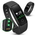 Bluetooth monitor de freqüência cardíaca pulseira smartband id107 academia flex pulseira para ios android pk xiomi mi banda 2 pulseira inteligente