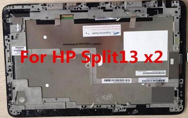Asamblea LCD del ordenador portátil Para HP Split X2 13 panel Pantalla LCD marco de pantalla táctil digitalizador reemplazo de la reparación fix parte 1920*1080