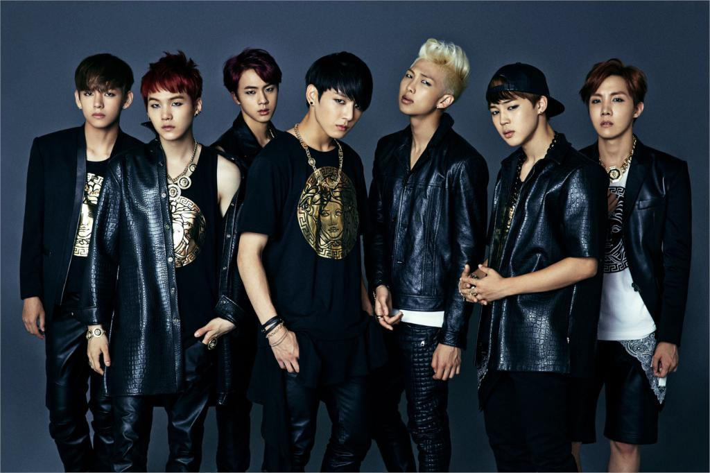 Bts Band Bangtan K Pop Boy Group Korean Boy Band Poster