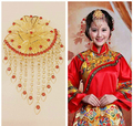 Newest Classical Chinese Designs Handmade Beads  Costume Hair Comb ,Bridal Wedding Frontlet  Hair Accessory