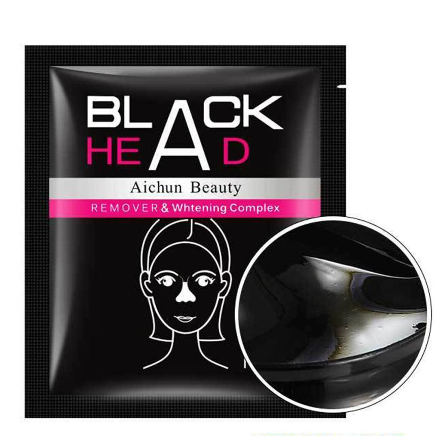 Brand New And Hot 1pcs Nose Mask Blackhead Remover Black Mud Deep Cleansing Purifying Peel Acne Face Large Pores Anne