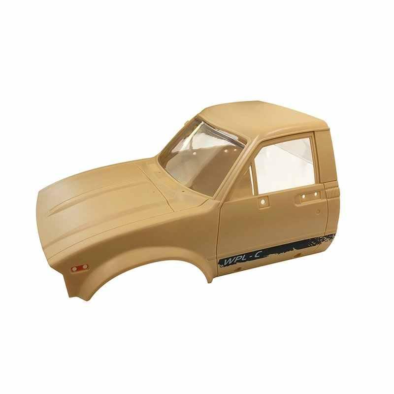 WPL C-14 2.4G 1:16 Vier Drive Klimmer RC Auto KIT Met Servo Motor DIY Montage Accessoires Voor Kinderen Intelligentie gifts Presents