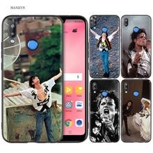 Silicone Case Cover for Huawei P20 P10 P9 P8 Lite Pro 2017 P Smart+ 2019 Nova 3i 3E Phone Cases michael jackson singer стоимость