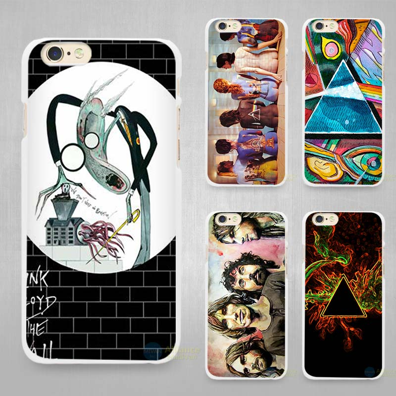 pink floyd the wall Hard White Cell Phone Case Cover for Apple iPhone 4 4s 5 5C SE 5s 6 6s 7 Plus