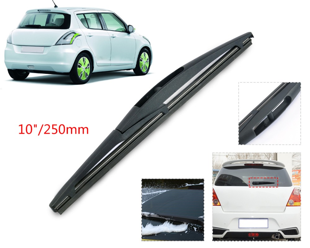"DWCX 10"" Rear Rain Window Windscreen Wipers Windshield ..."