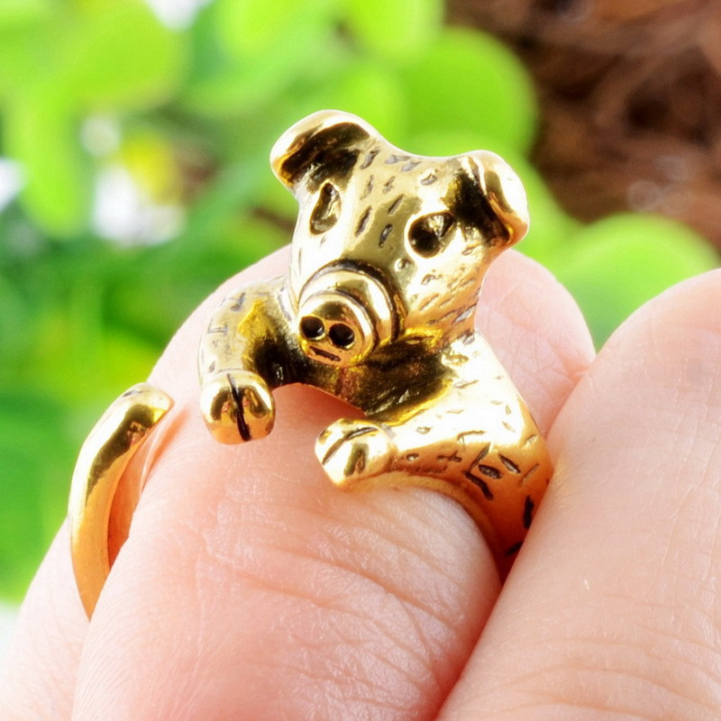 Cute Pig Rings For Women Jewelry Animal Rings Female Fashion Adjustable Rings Trend Open Rings Gifts Black Friday