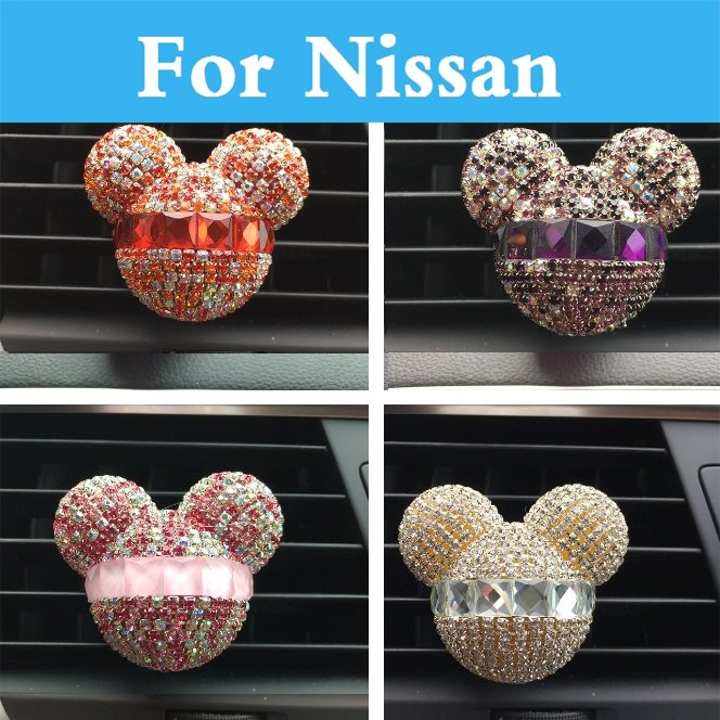 Car Air Conditioning Outlet Air Refreshing Agent Perfumes For Nissan Sylphy Cedric Cima Crew Dualis Expegloria Gtr Juke Bluebird