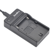 DuraPro USB Цифровой Зарядное Устройство для Sony NP-FM50 NP FM50 NPFM50 и Sony Alpha A100 DSLR-A100 A100K CCD DCR