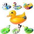 Natación del bebé del cuello piscine niños rosquilla inflable flotador swimtrainer boia párr nadar anillo del cuello del bebé inflable anillo de natación
