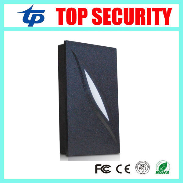 4pcs a lot 125KHZ RFID card reader with LED light wiegand26 card reader door access card reader KR100 ZK smard card reader IP65 outdoor mf 13 56mhz weigand 26 door access control rfid card reader with two led lights