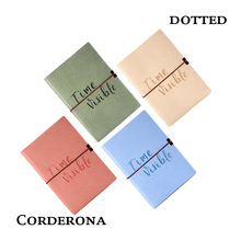 цена на A5 Dot Grid Elastic Band Soft Cover Bullet Notebook Creative Cute Simple Fashion Dotted Journal Bujo