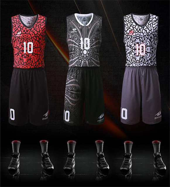 8ce7b8aed placeholder custom basquete jersey print personalized pattern Colorful  V-collar sleeveless throwback usa basketball jerseys Mini