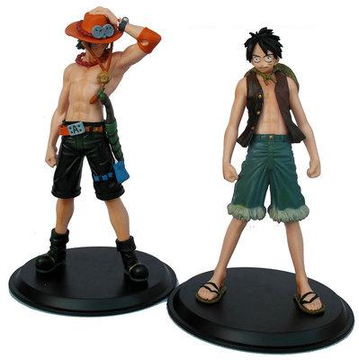 2pcs/lot One Piece Figure Set Toys