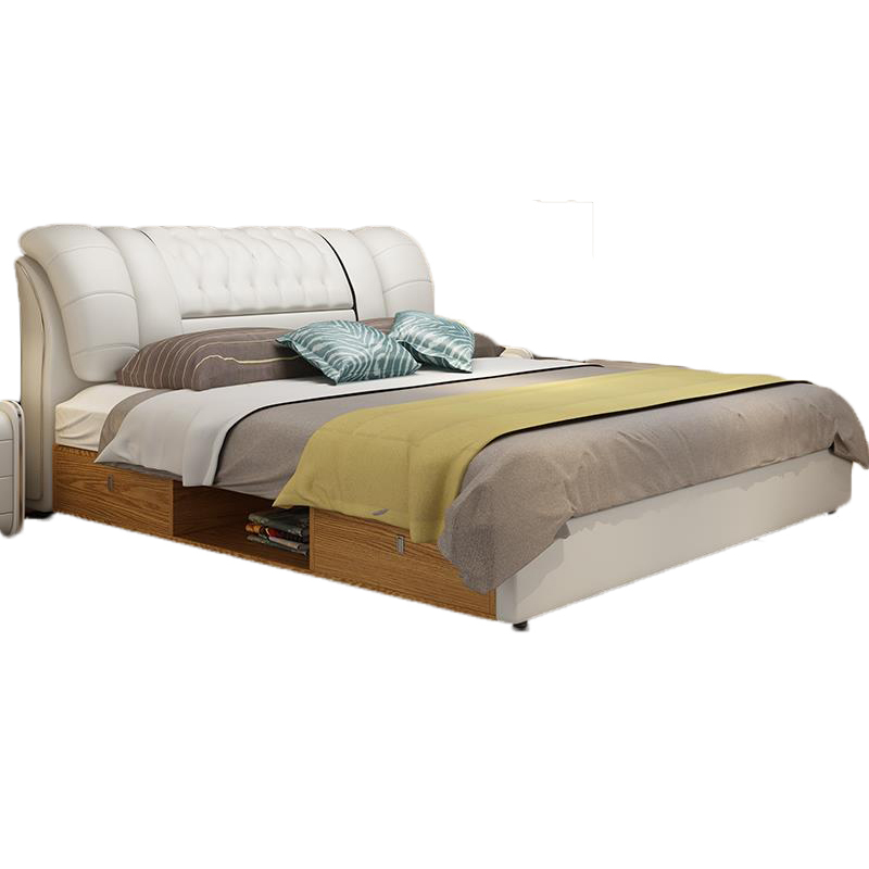Recamaras Letto Matrimoniale Set Yatak Matrimonio Totoro Leather De Dormitorio bedroom Furniture Mueble Cama Moderna BedRecamaras Letto Matrimoniale Set Yatak Matrimonio Totoro Leather De Dormitorio bedroom Furniture Mueble Cama Moderna Bed