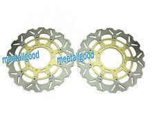 Front Brake Disc Rotors for  09 10 11 GSXR 1000 & 08 09 10 11 GSXR 600 750 Carbon fiber Aluminum