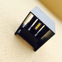 12W LED Outdoor Wall Lamps IP65 Waterproof Indoor LED Stair Light AC85-AC265V Corridor Lighitng bedside Wall Lamp AT-06