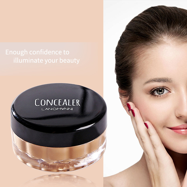 Concealer Cream Face Skin Contour Make Up Base Long Lasting Moisturizer 12 Colors Eyes Brighten Cosmetic Makeup Primer 3