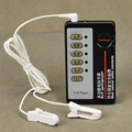 Electric pulse Shock Stimulator Nipple Clamps Adult Sex Toys
