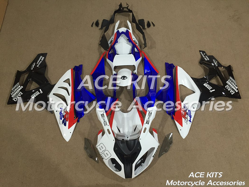 New ABS motorcycle Fairing For BMW S1000RR 2009 2010 2011 2012 2013 2014 Injection Bodywor All sorts of color No.381