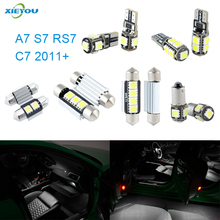 XIEYOU 13pcs LED Canbus Interior Lights Kit Package For A7 S7 RS7 C7 (2011+)