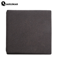 Solid Knitted Cotton Back Cushion Pads Kitchen Chairs Lumbar Support Comfort Memory Latex Seat Cushion Home Decor Luxury Cushion