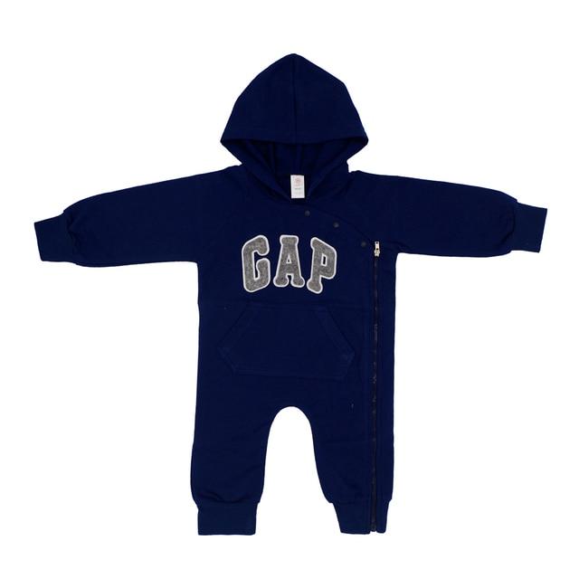 5ea9337bb Newborn Baby Boys Girls Hoodies Jumpsuits 100% Cotton Autumn Winter ...
