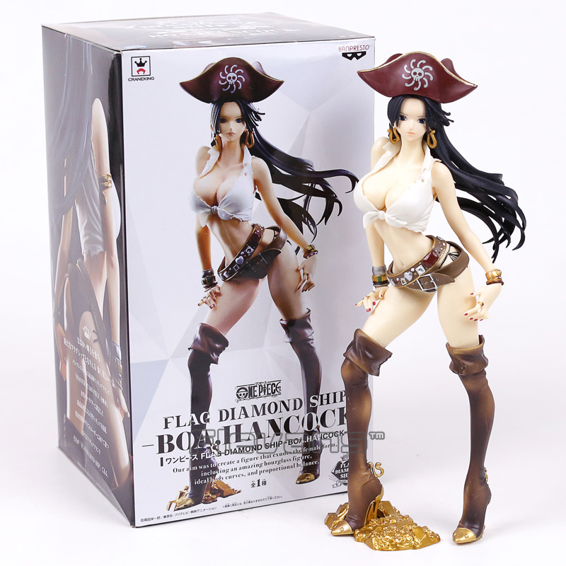 Pvc Figure Collectible Model Toy 25cm Toys & Hobbies Reliable Anime One Piece Boa Hancock Flag Diamond Ship Ver