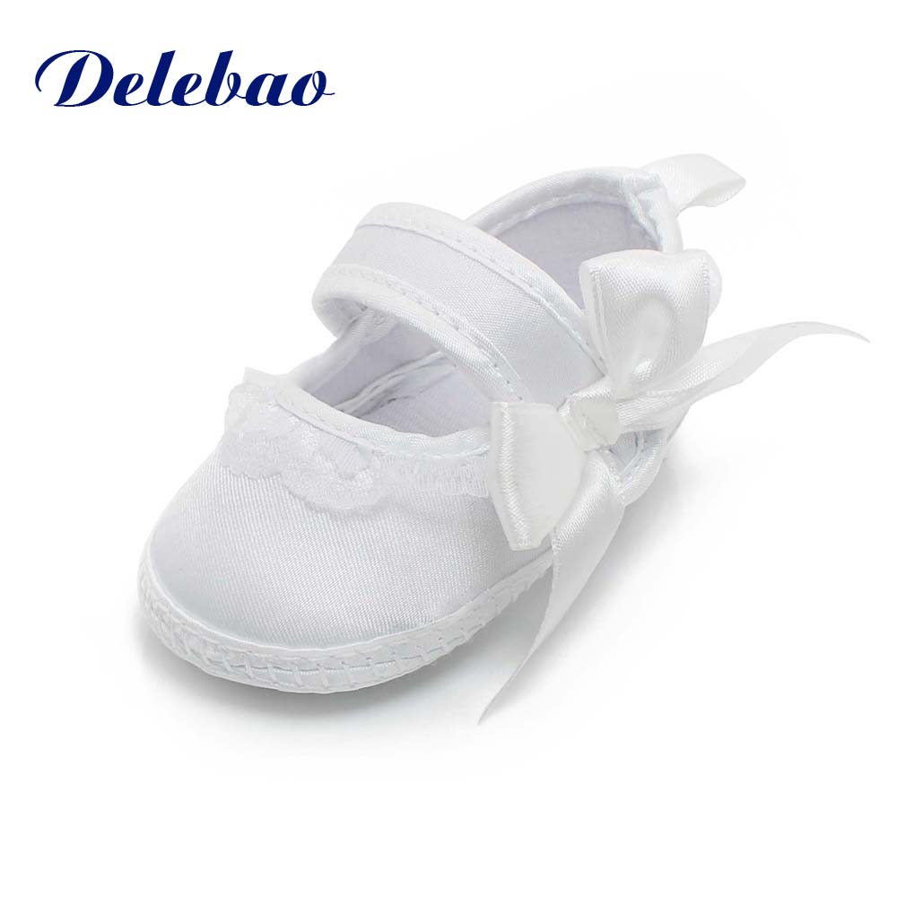 America And Europe White Christening/Baptism Shoes Unique Serious Solemn Ceremony For Newborn Baby