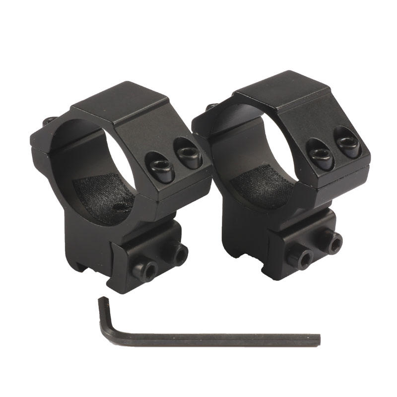 1Pair (2pcs)/lot Hunting Scope Mount 30mm Rings For Weaver Picatinny 11mm Rail For Optics Sight Accessories Hunting Caza