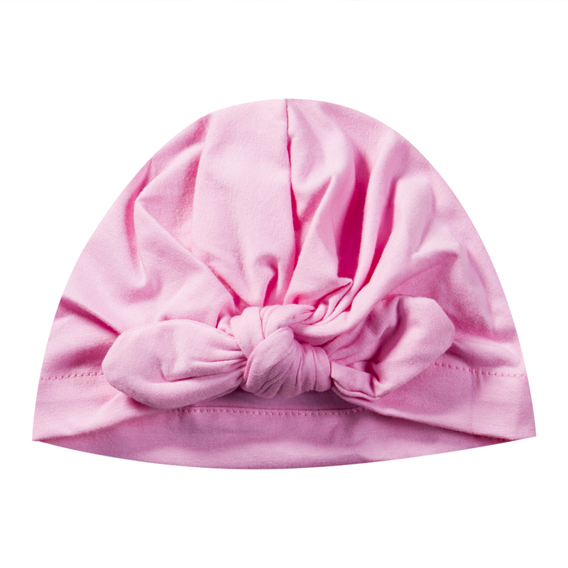 Newborn Baby Hats Hot Sale Toddler Kids Boy Girl Bowknot Soft Cotton Beanie Hat 2017 New Arrival Fashion Cute Baby Winter Hat