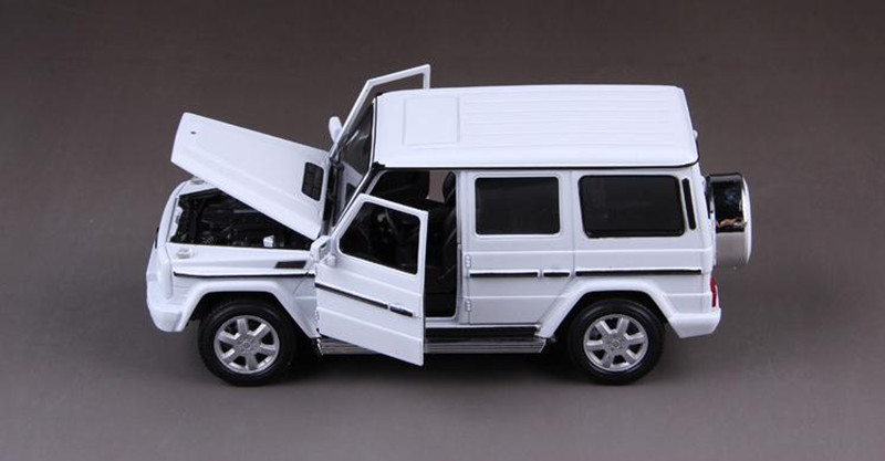 1 24 Alloy Car Models High Simulation Benz G Class Toy Vehicles