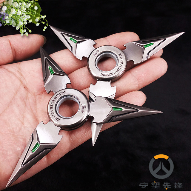 Anime model toys. Cartoon weapon model toy sword. Rotate the darts.Children's toy knife children's gifts.