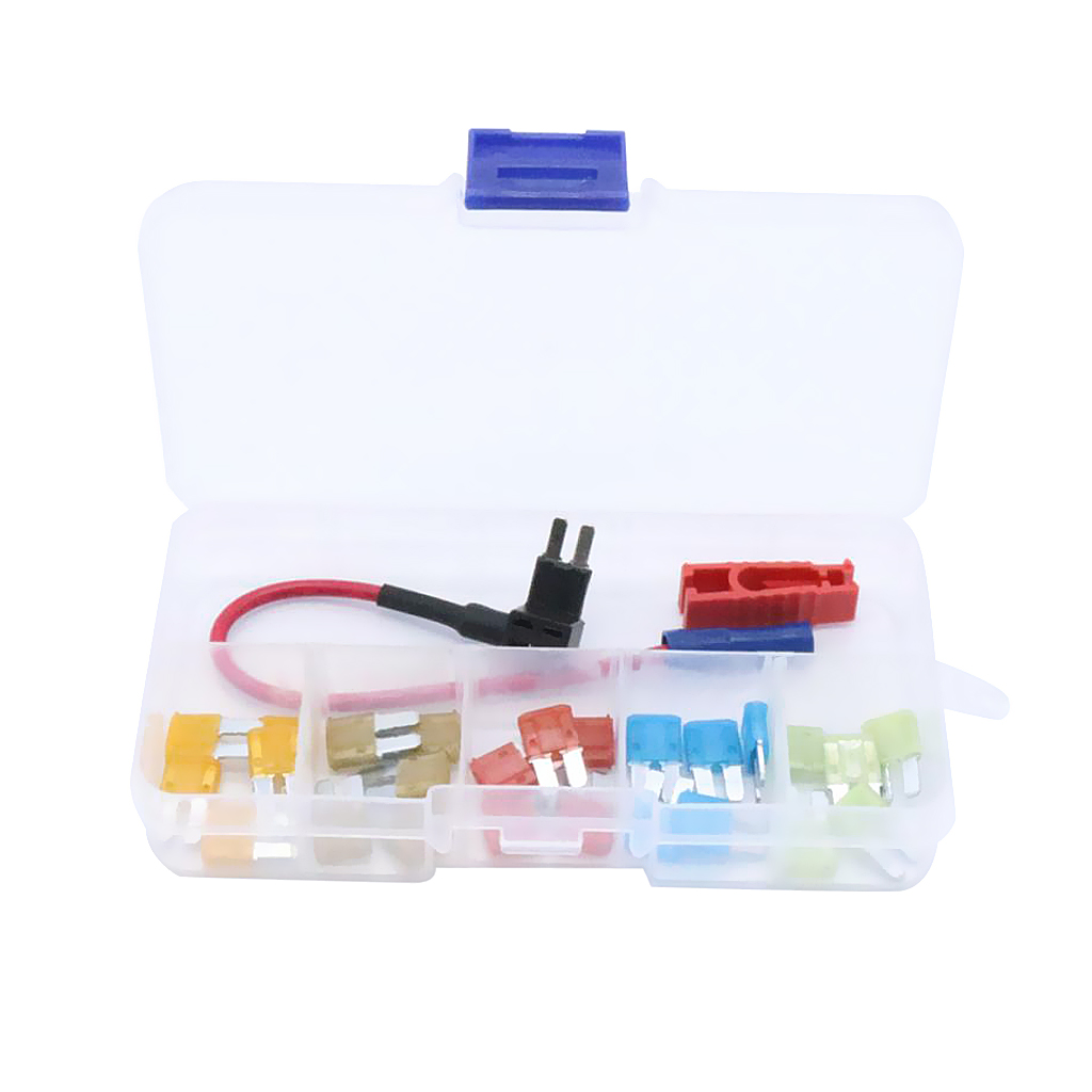Image 5 - 25 Pcs Car Boat Motorcycle ATR Micro2 Blade Fuse 5A 7.5A 10A 15A 20A & In line Fuse Holder/Puller Plastic & Zinc Alloy-in Fuses from Automobiles & Motorcycles