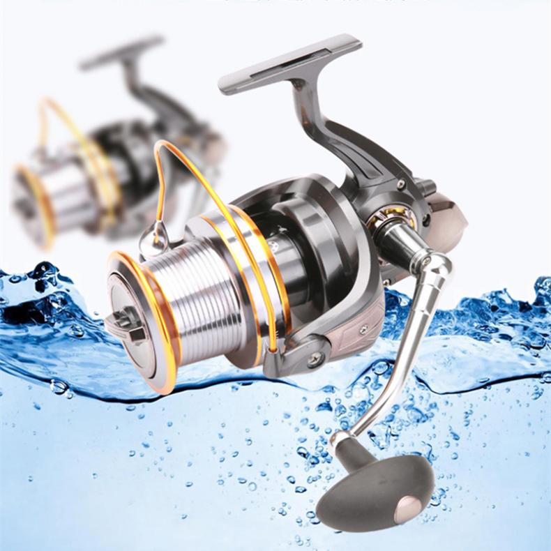 Image 2 - 9000 Series 12+1 Ball Bearings full Metal Spool Jigging Trolling Long Shot Casting Spinning Big Sea Left / right Fishing Reel-in Fishing Reels from Sports & Entertainment