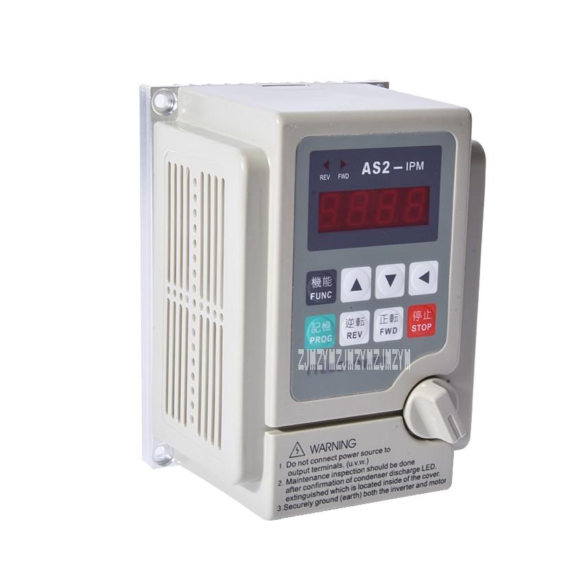 цена на New Arrival 220v 0.75kw/750W AS2-107 or AS2-IPM Inverter Drive 380v Motor Speed Controller Used for 3-phase 220V or 380V Motor