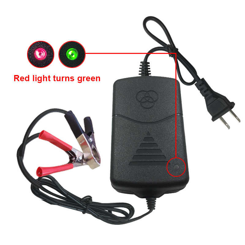 12V Battery Charger Maintainer Amp Volt Trickle for Car Truck Motorcycle M8617