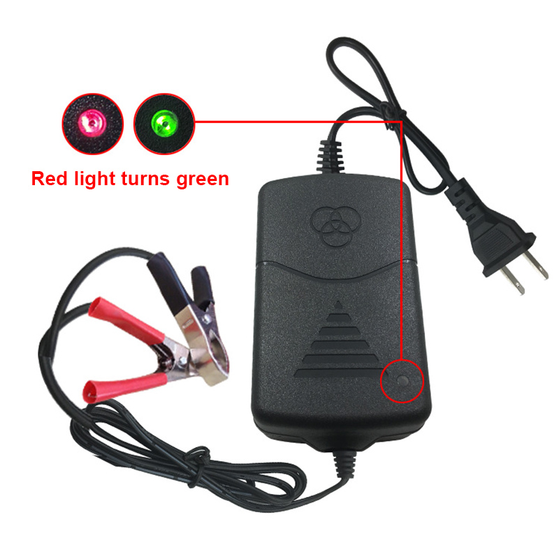 12V Battery Charger Maintainer Amp Volt Trickle for Car Truck Motorcycle M861712V Battery Charger Maintainer Amp Volt Trickle for Car Truck Motorcycle M8617