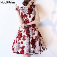 Banquet Short Evening Dress 2017 HooltPrinc New Designer Evening Gown Patterns A Line Jersey Flower Skirt