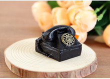 1PC Indoor decorations ornaments resin crafts retro telephone camera photography props nostalgic landline crefts JL 110