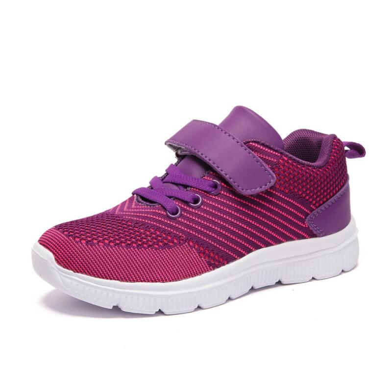 CLOWN DUCKS Autumn 2019 Toddler Boys Girls Hot Sneakers Little Kid High Top Knit Booties Big Children Fashion School Sport Shoes in Sneakers from Mother Kids