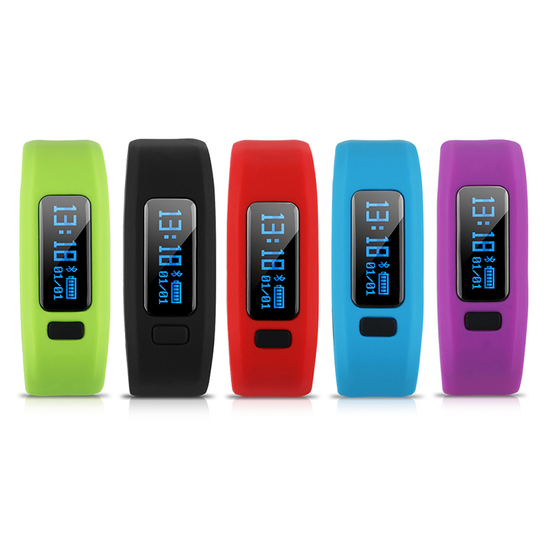 Androind Bluetooth Smartband Cicret Smart Bracelet Fitness Smart Wristband With Call Reminder Passometer Sport font b
