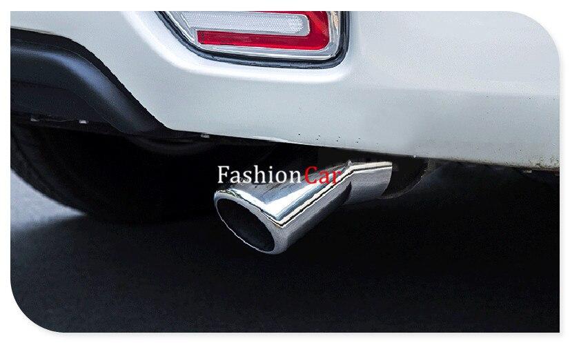 Pour Nissan patrouille Y62 Armada 2010-2018 embout de silencieux d'échappement en acier inoxydable 1 pièces