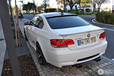 E92 Carbon Fiber Rear Roof Lip Spoiler Wing For Bmw E92 3series 2006 2013 Ac Style